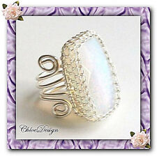 Digital Jewelry Book, diy pdf Tutorial Wire Wrapping Adjustable Opalite Ring