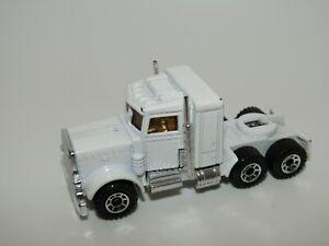 Matchbox Superfast No 43 Pre-Production Peterbilt Truck WHITE Body Near Mint UB
