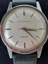Vintage Girard Perregaux Sea Hawk 17 Jewel Hand Wind Watch