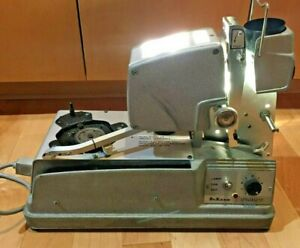 Vintage Dukane Film Projector and Turntable 14A335 E with Case