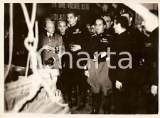 1935 MILANO Duca di BERGAMO e Achille STARACE alla MOSTRA DELLO SPORT *Foto