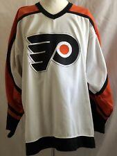 Philadelphia Flyers CCM Adult Mens L VTG NHL Jersey Sewn Blank 90s