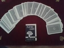 Magic Tricks Al Baker 50/50 Forcing Pack (Alf Cooke, Bridge sized) Blue backed