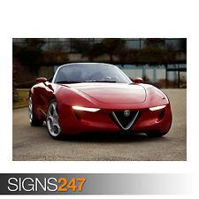 ALFA ROMEO SUPER CAR (0429) Car Poster - Photo Poster Print Art A0 A1 A2 A3 A4