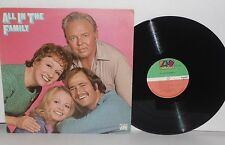 ALL IN THE FAMILY Television Soundtrack Vinyl LP 1971 Atlantic  Norman Lear VG+