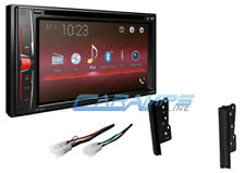 "NEW 6.2"" PIONEER CAR STEREO RADIO DOUBLE DIN BLUETOOTH W/ DASH KIT & HARNESS"