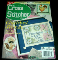 The Cross Stitcher Magazine Aug. 2001 ~ Annie Lang Design ~ Precious Moments ++