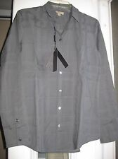 Burberry Brit Gray Casual Cotton Woman Shirt with tag