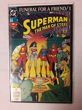 1993 SUPERMAN THE MAN OF STEEL ISSUE #20 DC COMIC BOOK MINT UNREAD    31