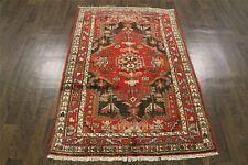 Traditional Vintage Persian Wool  3.5 X 5.2 Handmade Rugs Oriental Rug Carpet