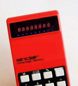 Calculatrice Sinclair Cambridge Memory