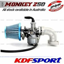 KDF CARBY MANIFOLD CARBURETOR 50 Z50R 50CC AIR FILTER FOR HONDA MONKEY Z50 Z50J