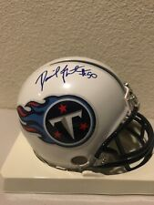David Thornton Signed Tennessee Titians Mini Helmet PSA/DNA