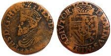 PAYS-BAS ESPAGNOLS - Philippe II [1555-1598] - Liard 1589 Tournai (VH 0321-TO)
