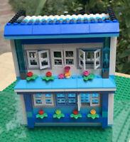 lego friends 2 floor house moc. built, lego creator lego city