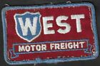 Vintage+West+Motor+Freight+Embroidered+Patch