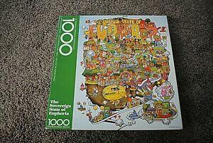 Springbok Hallmark Jigsaw Puzzle 1000-Pieces  ~ The Sovereign State of Euphoria