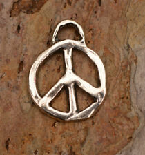 Artisan Sterling Silver Peace Charms, PP2