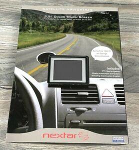 NEXTAR X3-T GPS bundle Power Car Charger USB Cord Mount Manual Case