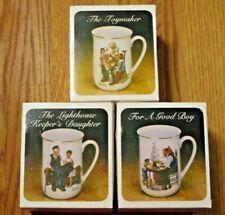 3 Norman Rockwell Museum Mugs