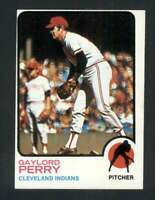 1973 Topps #400 Gaylord Perry NM/NM+ Indians 115584