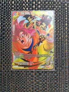 Dragon Ball Super TCG Son Goku, Dawn of Divinity  BT8-109 SPR