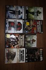 Call of Duty brothers in arms lot 8 games  for PC