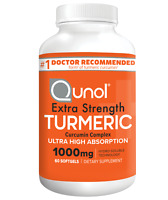 Turmeric Curcumin, Qunol Ultra High Absorption Extra Strength Softgels