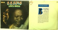 B.B. King - Completely Live & Well + A Classic Revisited LP Vinyl Record Albums