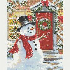 DIY 5D Christmas Snowman Diamond Painting Embroidery Cross Stitch Kit Decor