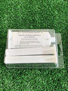 Golf Shaft Head Epoxy Glue 10 Minute Set 1.5 OZ Kit Dynacraft USA Made