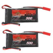 Genuine 7.4V 500mAh 25C MAX 35C 2S JST Plug Li-po Battery for RC Z8X4