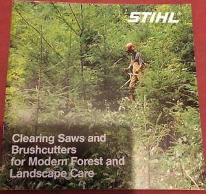 Rare Stihl Forestry & Landscape CareCatalogue 1988