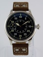 Montre pilote Flieger Navigator -B PURE MECANIQUE Type Unitas 6497 watch Uhr