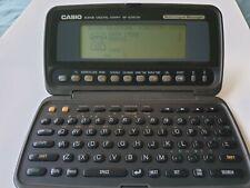 Vintage Casio Digital Diary SF-8350R PDA Organizer