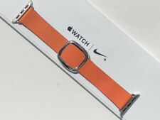 GENUINE APPLE WATCH MODERN LEATHER BUCKLE - SUNSET 38/40mm L **RARE**