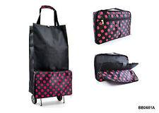 Unisex Adult Synthetic Up to 40L Luggage Trolleys