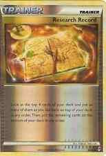 POKEMON CALL OF LEGENDS -RESEARCH RECORD 84/95 REV HOLO
