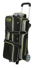 Storm Rolling Thunder Black/Grey/Lime 3 Ball Roller Bowling Bag