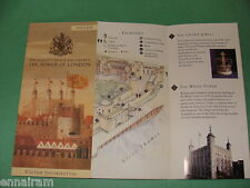 Tower of London Visitor Information Brochure  (Map)