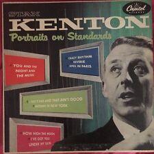 "Vinyl Records 33 1/3 by 10 "" Stan Kenton -Portraits On Standards H462 Capitol"