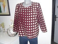 blouse de marque LA FÉE MARABOUTÉE taille 42 XL top haut pull polo tunique femme
