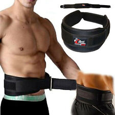 CHZL PRO Quality Weight Lifting BodyBuilding Back Support Gym Belt - Medium BLK