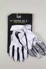 Nike Football Gloves Youth Vapor Jet 4 White Black Size Small New with Tags
