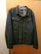 Men's Tony Hawk Dark Denim Jean Jacket Size: X Large Button Down
