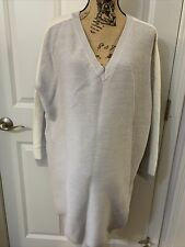 ASOS Maternity Top/Tunic Sz 10 Gray Knitted NWT