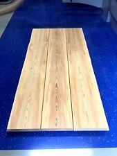 Baumscheibe Massivholz Tischplatte Lärche 190 X 90 x 5,8 cm