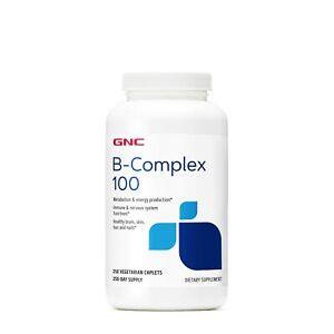 GNC B-Complex 100 250 Vegetarian Caplets