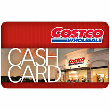 $300 Costco Cash Card Gift Card - No Expiration Date Free Shipping
