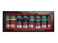 8 X Jeu Couleur - Orcs et Gobelins VAL72301 Peinture Acrylique Set + Gratuit